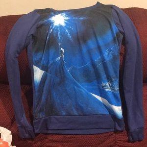 Frozen Elsa long sleeved shirt